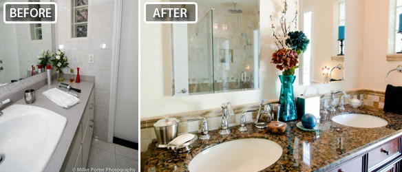 Miami bathroom remodeling before and after photos
