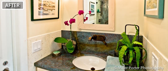 Pinecrest bathroom remodeling before and after photos