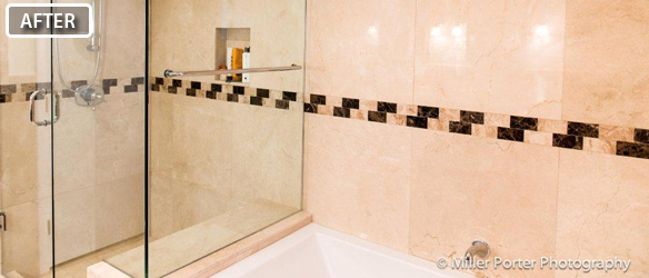 Coral Gables bathroom remodeling before and after photos