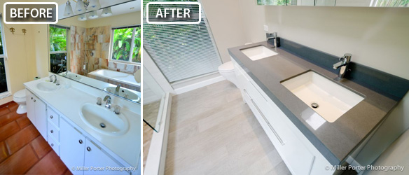 Coconut Grove bathroom remodeling before and after photos