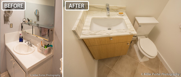 Doral bathroom remodeling beofre and after photos