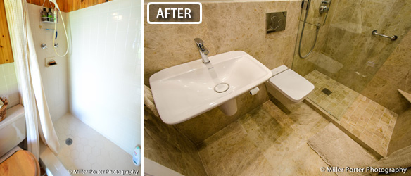 Cutler Bay bathroom remodeling before and after photos